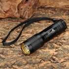 UltraFire SH-9W CREE XR-E Q5 200lm 5-Mode White Flashlight - Black (1 x 16340)