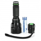 Aoxiang AX-901 120lm 3-mode Neutral White LED Flashlight w / CREE XRE Q5 - noir (1 x 18650)