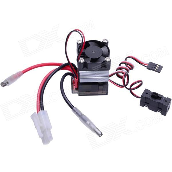 320A Brush ESC for On-road RC 1/10 1/12 Car Truck TD - 001