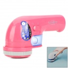LJ-677 Rechargeable Fabric Fuzz Shaver Razor / Trimmer - Deep Pink (220V / 50Hz)