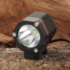 SL-8006 Cree XM-L T6 900lm 4-Mode White Bicycle Light & Headlamp - Black + Red (4 x 18650)