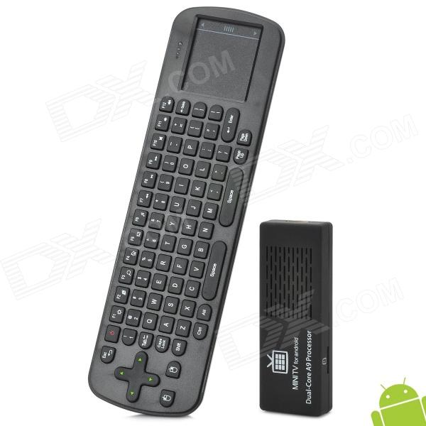 MK808 RK3066 Dual-Core Android 4.2 Mini PC w/ 8GB ROM / 1GB RAM / Wi-Fi / Bluetooth / RC12 Air Mouse