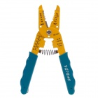 FEIBAO F-312F 7 Inch Wire Stripper Pliers - Yellow + Blue