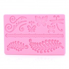 SP001 Butterfly Shaped Silicone Cake Maker DIY Mould - Pink