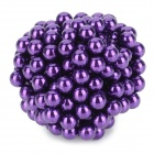 DIY 5mm Round Neodymium Magnets - Purple (216 PCS)