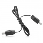 Mini USB 5-Pin Male to Male Cable for MP3 / MP4 - Black