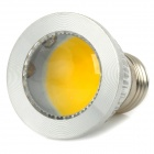 SENCART E27 3W 185lm 3500K 3-COB LED Hot White Light Spotlight - Argent + Blanc (95 ~ 265)