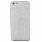 Unique Glitter Style Plastic Back Case for Iphone 5 - Silver