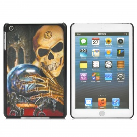 Cool 3D Alien Skull Style Protective Back Case for Ipad MINI - Multicolor