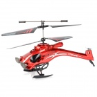 HuaJun W808-9 3.5-CH IR Control R/C Helicopter w/ Gyro / LED - Red + Black