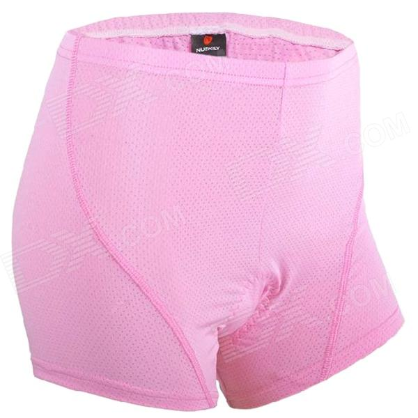 NUCKILY NS360 Women's Cylcling Pants Shorts - Pink (Size L) кальян 3д модель