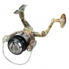 SK3000  5-Ball Bearing Fishing Coiling Reel - Silver + Camouflage