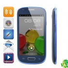 "S9920 (9920) Dual-Core Android 4.1 WCDMA Bar Phone w/ 4.0"" Capacitive Screen, Wi-Fi and GPS - Blue"