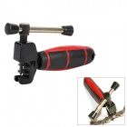 Stainless Steel Bicycle Chain Breaker Repair Tool - Red + Black