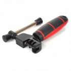 Stainless Steel Bicycle Repair Disjuntor Corrente Tool - vermelho + preto