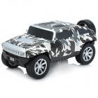 MK-F29 Hummer Car Style MP3 Speaker - Black + White