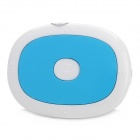 MP-TU-3 Oval Shape MP3 Player w/ TF Card Slot / Clip - Blue + White