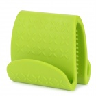 Kitchen Silicone Heat Insulation Clip - Green