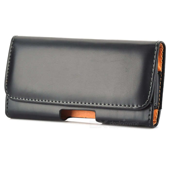 Protective PU Leather Waist Bag Case for Sony Xperia Z L36H - Black