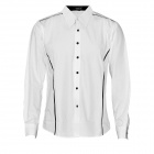 Slim Long Sleeves Cotton Blended Fabric Shirt for Men - White (Size-XL)
