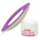Supernail Professional Nail Polishing Buffing Cream - White + Purple (50g)