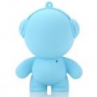 V88 Cute Cartoon Mini Portable USB Powered Speaker w/ 3.5mm Jack for Cellphone / MP3 + More - Blue