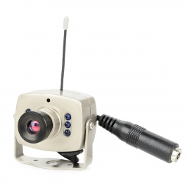 "2.4GHz Wireless 1/3"" CMOS 380 Lines Surveillance Security Monitoring Camera w/ 6-IR LED (PAL)"