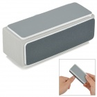 Nail Art Polishing Sanding Block - White + Grey