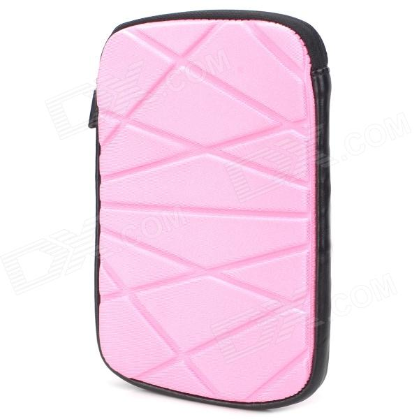 Irregular Figure Style Protective Water Resistant Bag for Ipad MINI - Pink + Black смартфон sony xperia x compact white android 6 0 marshmallow msm8956 1800mhz 4 6 1280x720 3072mb 32gb 4g lte [f5321white]