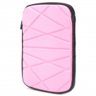 Irregular Figure Style Protective Water Resistant Bag for Ipad MINI - Pink + Black