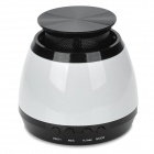 902 Bluetooth 4.0 Speaker w/ Microphone / FM Radio - White + Black
