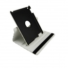 360 Degree Rotation Protective PU Leather Smart Case for Ipad 2 / 3 / 4  - Black + White