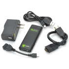 CS898 Android 4.2.2 Quad-Core-TV-spelare med 2GB RAM / 8GB ROM / USB / TF / HDMI / Bluetooth - svart