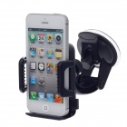 "4.3"" / 5"" Suction Cup Mount Holder for Mobile Phone - Black (6.7~11.2cm)"