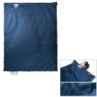 NatureHike LW180 Envelope Style Camping Sleeping Bag - Deep Blue + Grey