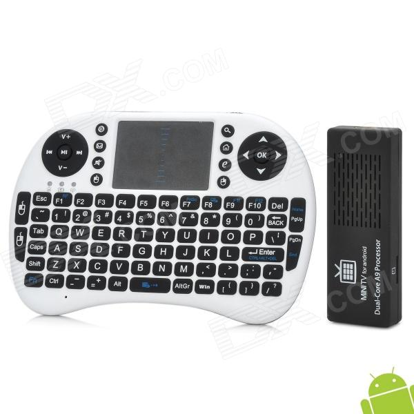 цены  MK808B RK3066 Dual Core Android 4.2 Mini PC w/ 8GB ROM / 1GB RAM / Bluetooth / Rii i8 Air Mouse