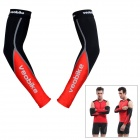 Veobike V-01 Outdoor Cycling Elastic Oversleeves - Red + Black (Size M / Pair)