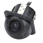 "18.5mm 1/4"" CMOS Waterproof Night Vision Car Rearview Camera - Black"