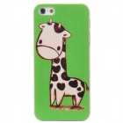 ENKAY ENK-6001A Cute Cartoon Deer Style Protective Back Case for Iphone 5 - Green + Beige + Brown