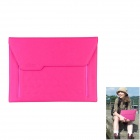 Modern Protective PU Leather Case for Ipad 2 / 3 / 4 - Deep Pink