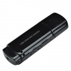 UC-10 USB 2.0 Voice Recording Pen  w/ 300KP Camera Video Camcorder - Black
