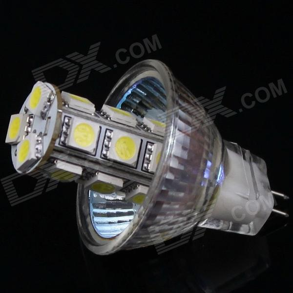 GCD 56007 MR11 GU4.0 3.6W 18-SMD 5050 LED Energy Saving Spot Light Bulb - White (DC 12V) Chattanooga Buy stuff