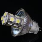 MR11 GU4.0 3.6W 18-SMD 5050 LED Energy Saving Spot Light Bulb - White (DC 12V)