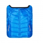 Stylish Thick Soft Down Jacket Pattern Protective Pouch for Ipad 1 / 2 / 3 / 4 / Mini - Blue + Black