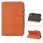 ENKAY ENK-7027 Protective PU Leather Case for Samsung Galaxy Tab P3100 / P3110 / P6200 - Brown