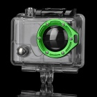 Miniisw C-2A3 Waterproof Case w/ Individual Aluminum Alloy Ring / Glass Lens for Gopro Hero2