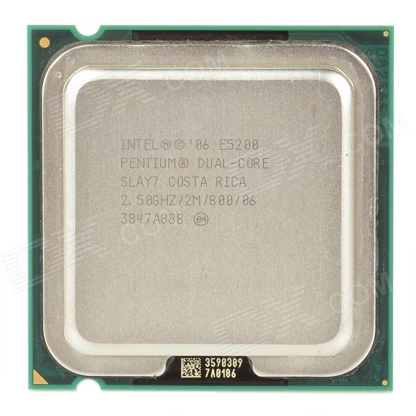 Intel Pentium E5200 Dual-Core 2.5GHz LGA 775 45nm 65W CPU (Second Hand) 409426 001 for proliant ml370 g5 cpu heatsink well tested with three months warranty