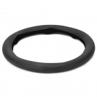 Car Silicone Steering Wheel Cover - Black