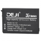 DEJI DJ-G1 Replacement 3.7V 1130mAh Li-Ion Battery for HTC Google / G1 / HTC-Dream