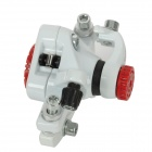 DongYing Dual-Side Adjustable Bicycle Rear Disc Brake - White + Red + Black